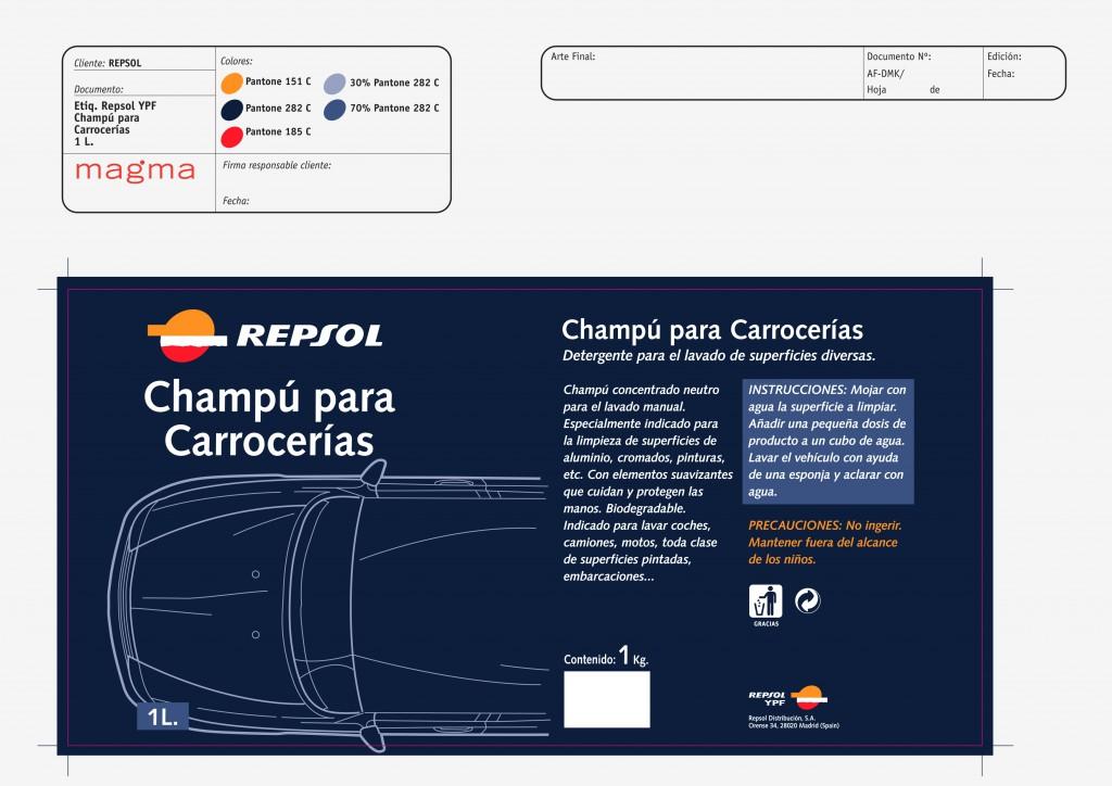 Champu Carrocerrías 1L
