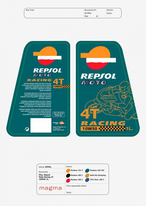RP Racing 4T 10W50 1L