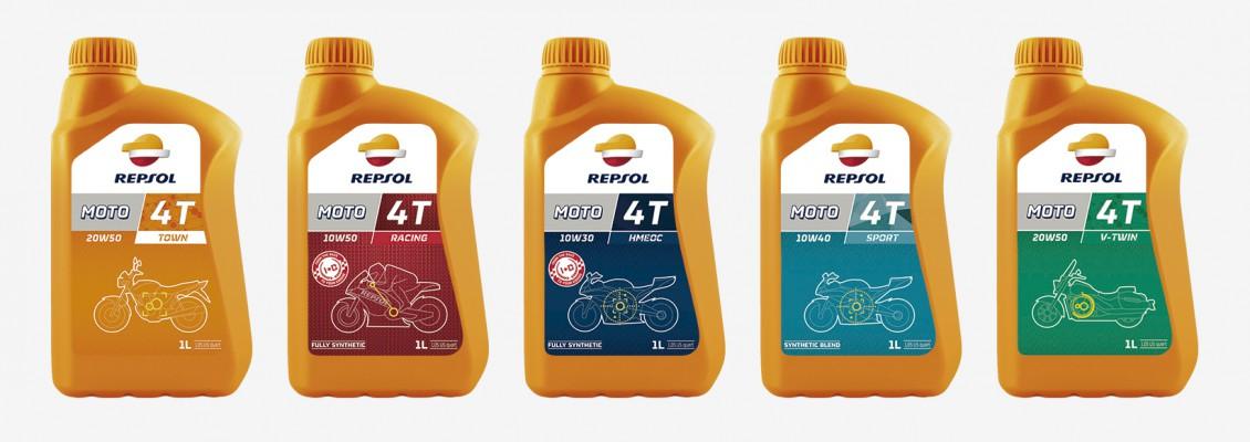 Repsol Motor Oil Packaging Magmadesign
