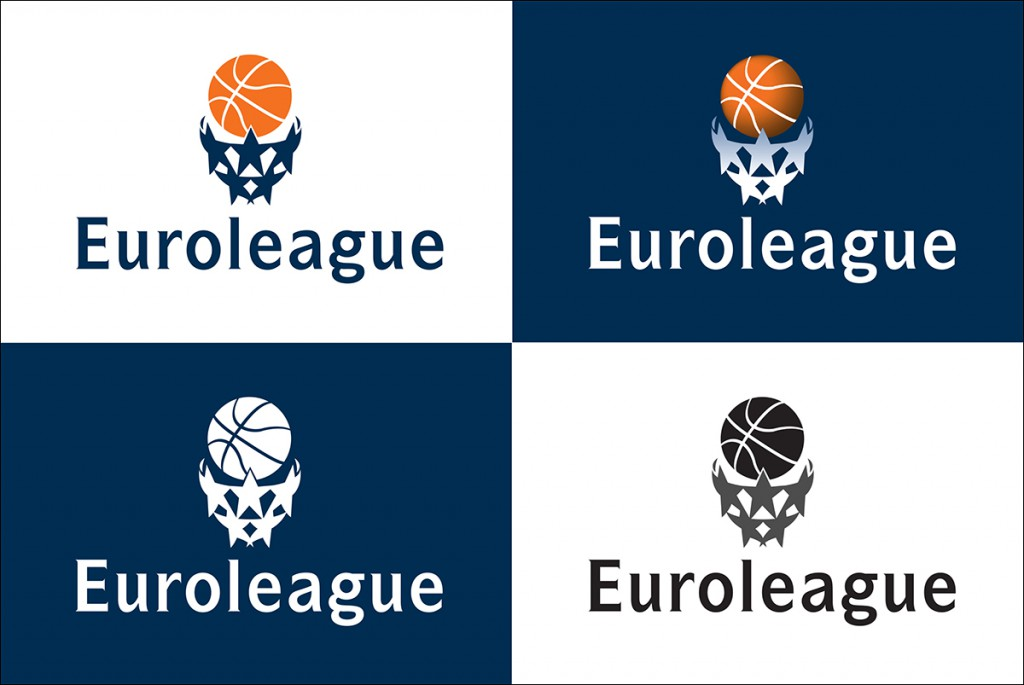 Euroleague logos